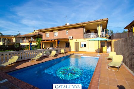 Villa Jardin de Sils, next to a PGA golf course in the heart of Costa Brava - Casa de camp