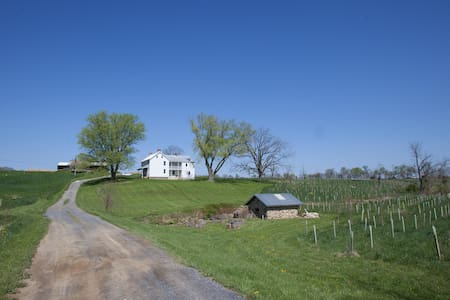 Fox Haven Organic Farm's Spring House - Haus