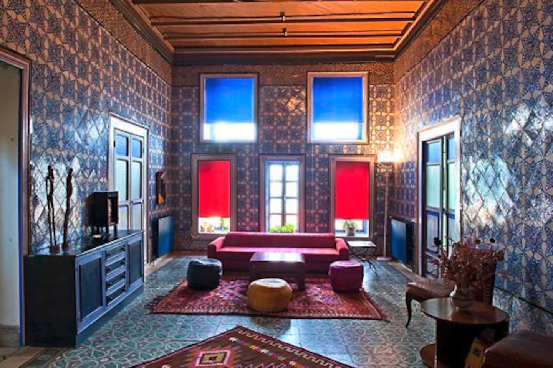 La Chambre bleue (©Nicolas Fauqué)