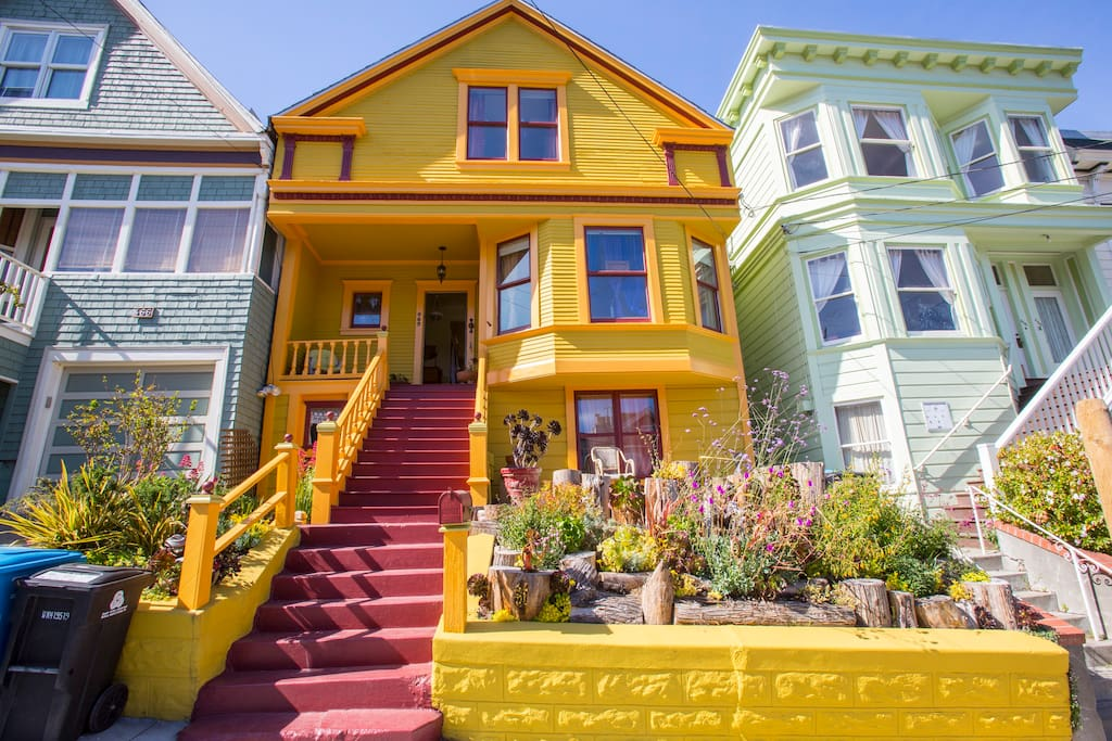 Charming Colorful Victorian II-Noe