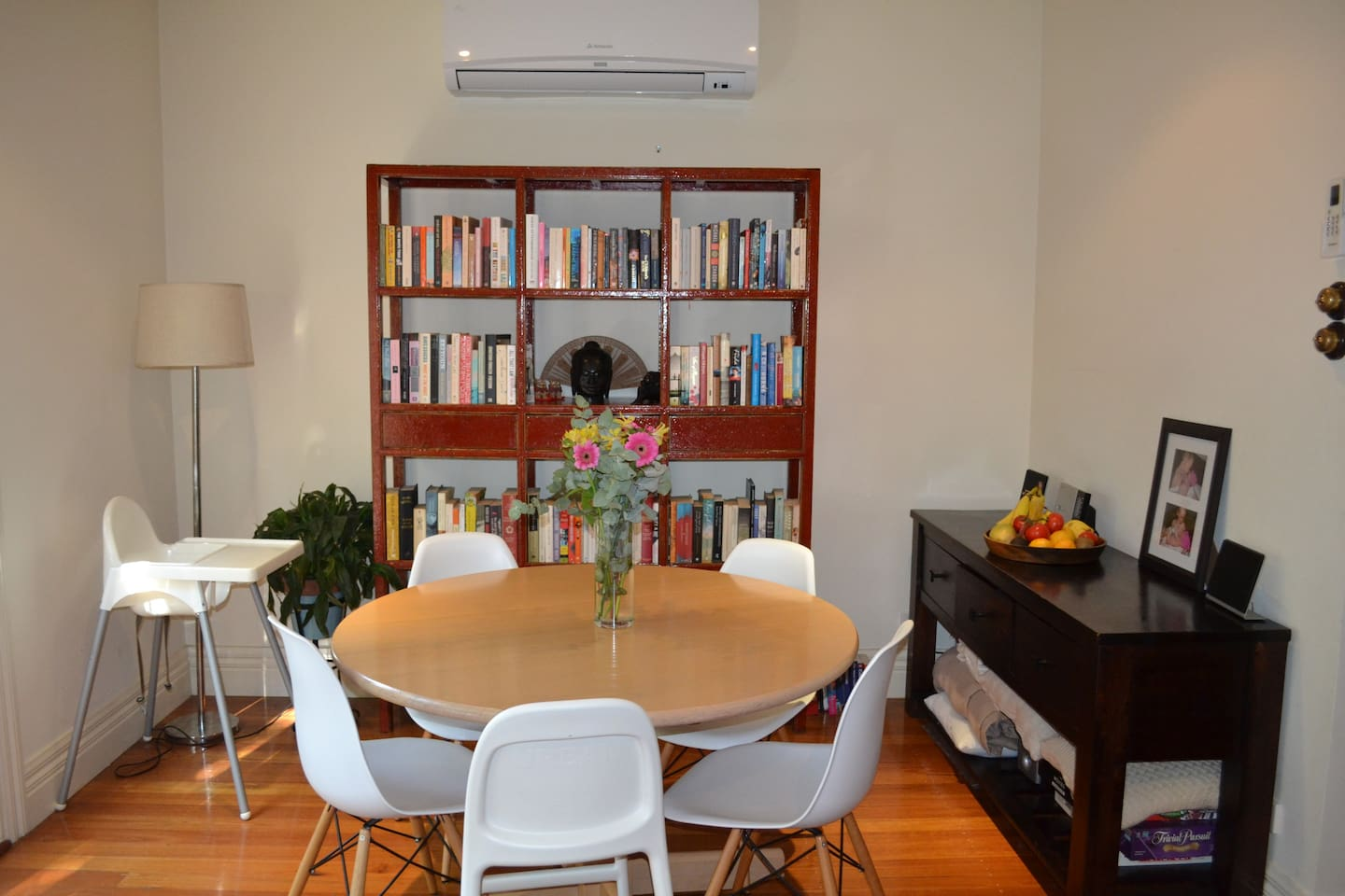 Dining table - off the living room.