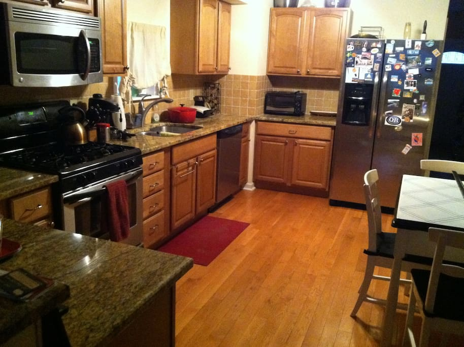Large kitchen - recently remodeled