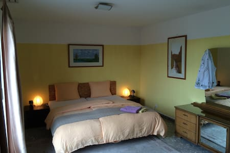 Room for 2+2, bath, free parking - Lucerne - House
