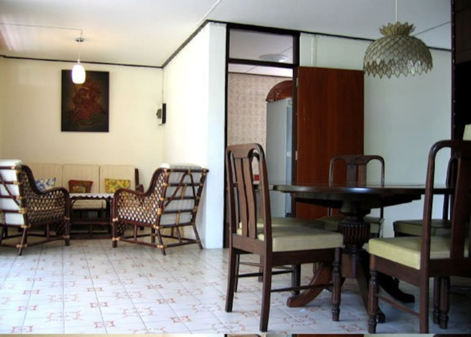 Dining & Living area.