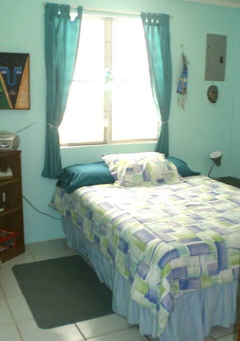 Second Bedroom w/ Fan, Fresh Linens, and ample closet space.