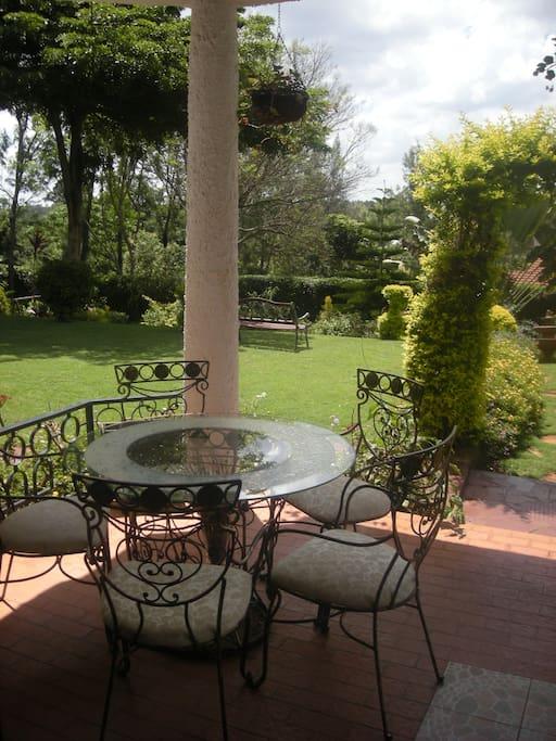 Lovely Verandah lounge