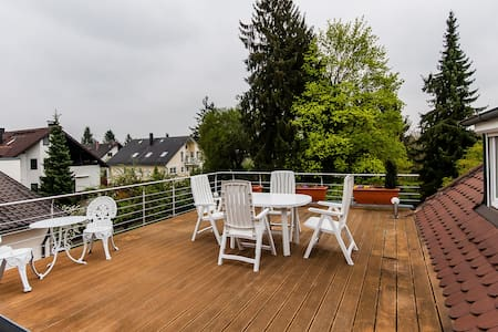 Sunny Apartment w/sundeck in Munich