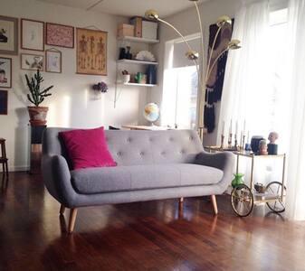 Centralt beliggende lejlighed - Apartamento