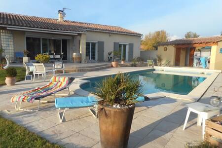 belle chambre d'hôte en Provence - Huis