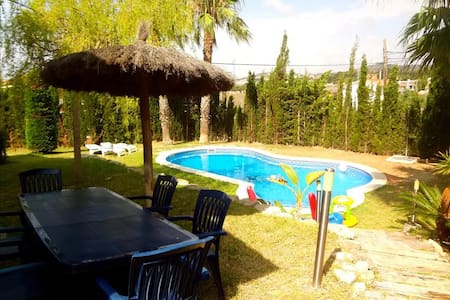 Casa Cunit for 8 guests,  just 5 minutes from the glimmering Mediterranean Sea - Costa Dorada