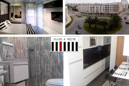 Apartment T0 - Black & White - Daire