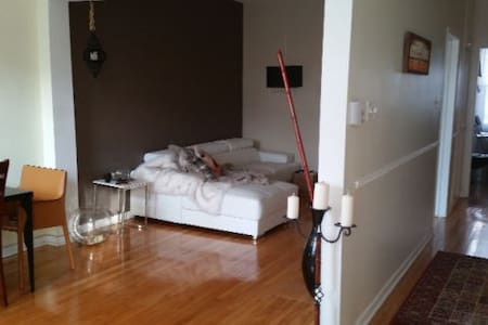 Spacious & gorgeous apartment 10 mins from Dtwn - Montréal - Wohnung