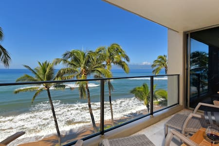 MAUI~ OCEAN FRONT WITH SPECTACULAR VIEWS - Каанапали