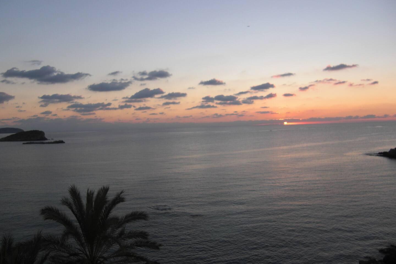 Stunning view from balcony....sunrise