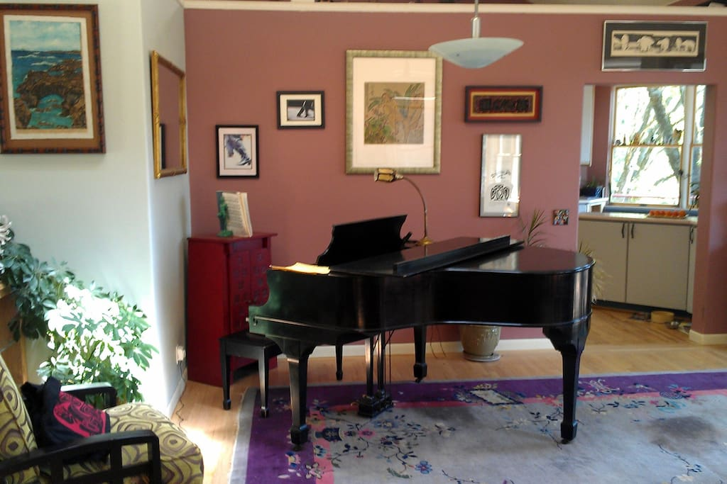Our Kranich & Bach baby grand