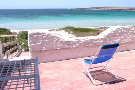 House on beach with great sea view - Apartamento