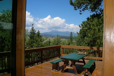 Log Cabin Retreat Epic Views - Hartsel - Blockhütte