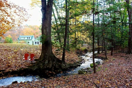 Catskills Mountain River Retreat