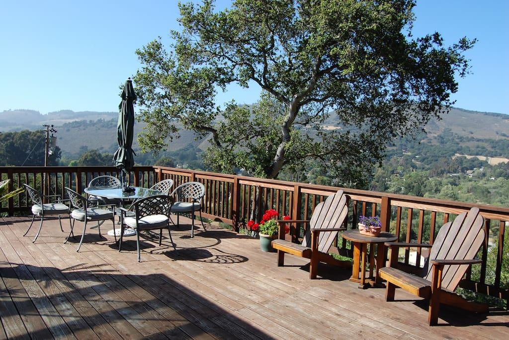 Carmel valley refuge views pool houses for rent in carmel for The refuge carmel