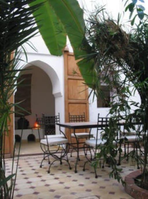 Patio du Riad Andalouse