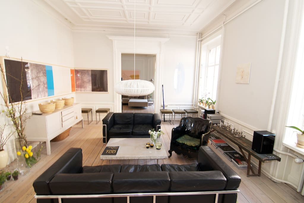 Leving room - access when renting the apartment