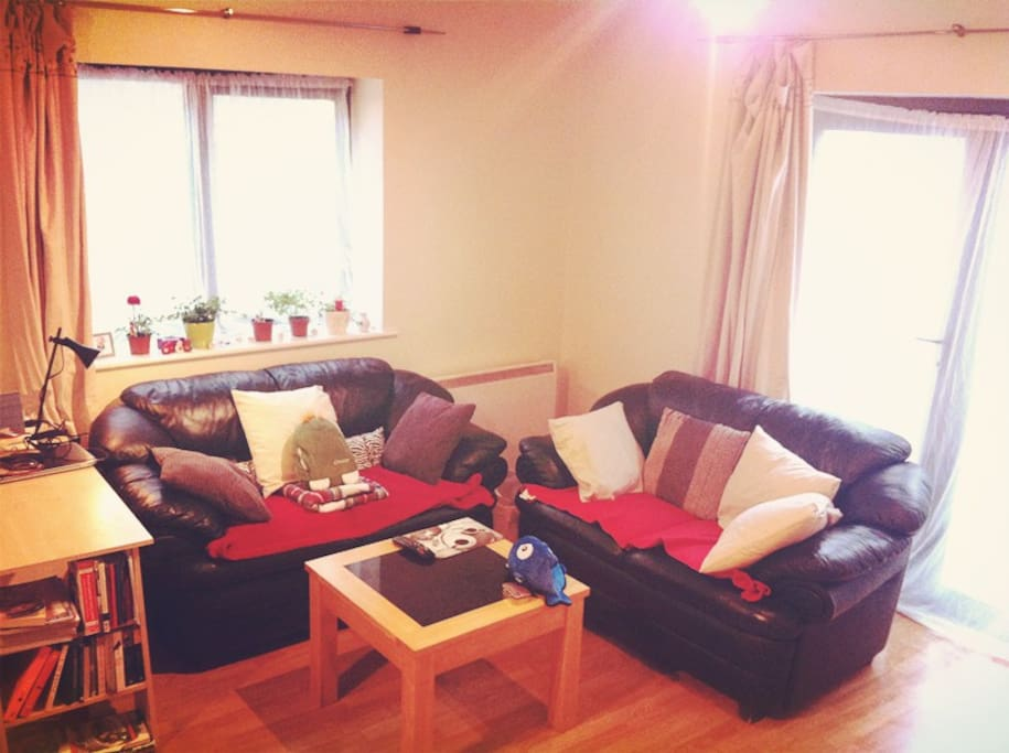 Warm and cosy living room
