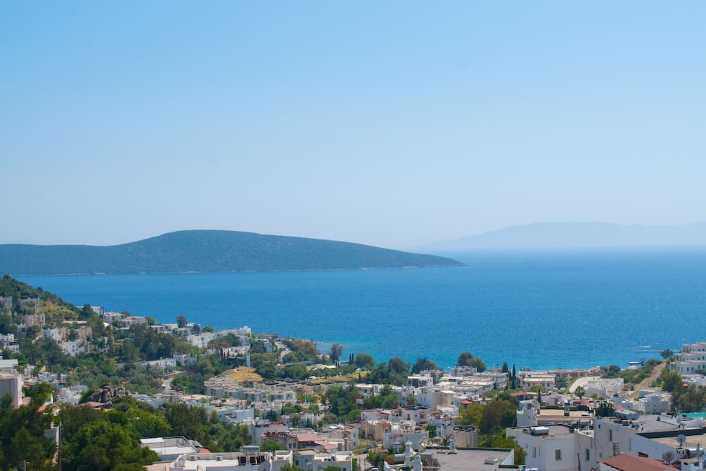 İn Central Bodrum, View Of The Sea