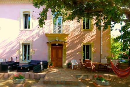 Provence stone House in Nîmes area - Générac - House