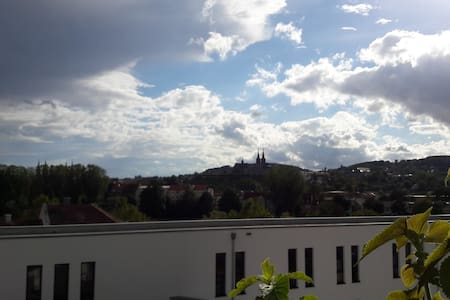 unique apartment in central Bamberg with panorama - Bamberg - Loft