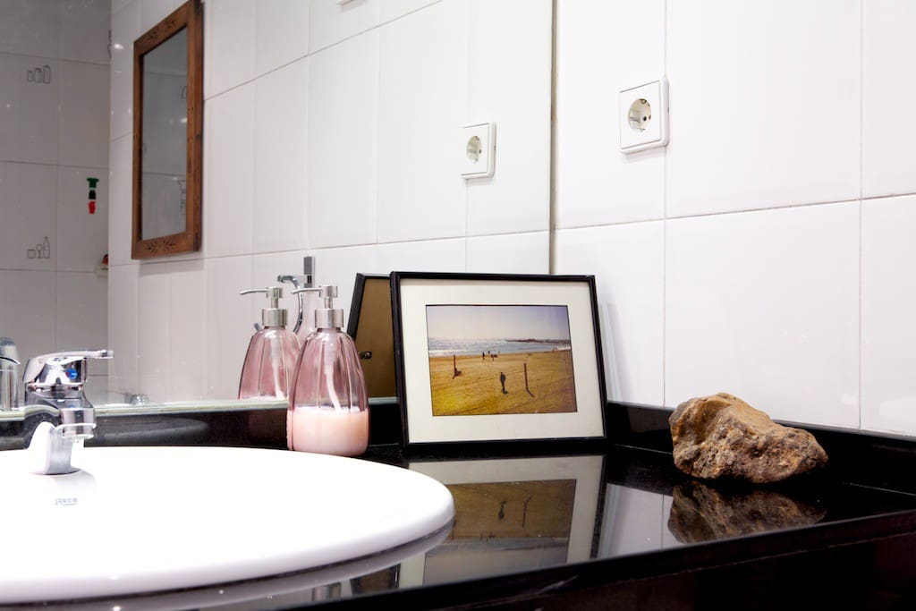 Prive bathroom - for a relaxing bath or shower