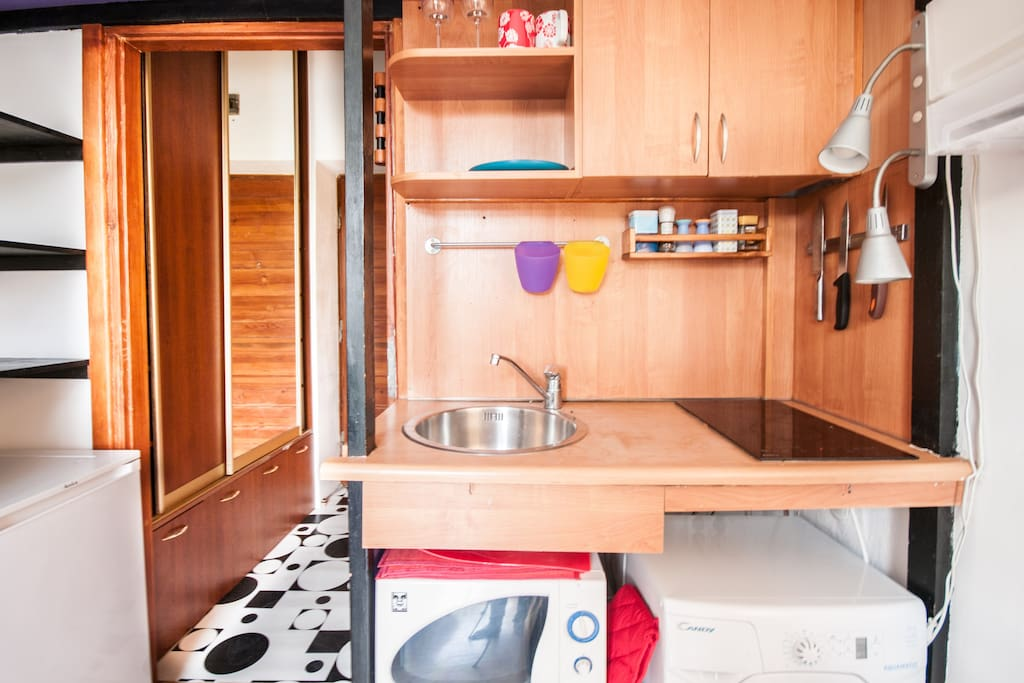 Kitchen in its glory