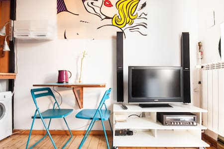 Cheap funky studio - central Warsaw - Apartment