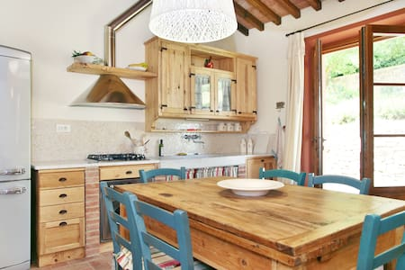 Converted barn in Tuscan olivegrove - Haus