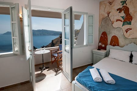 Studio 2 persons Oia Amazing view!! - Appartamento