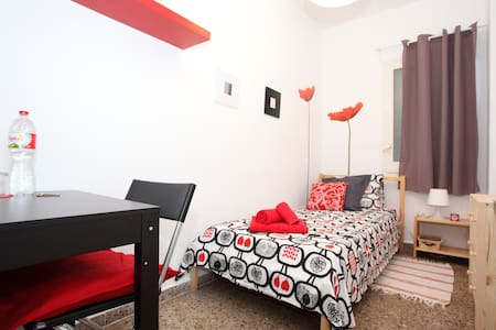 This is why you should stay with us: - Clean and cosy flat - Quite and safe neighborhood, well located and with convenient transportation - Trustful hosts - Bathroom to share only with one more person - Free mini-breakfast!