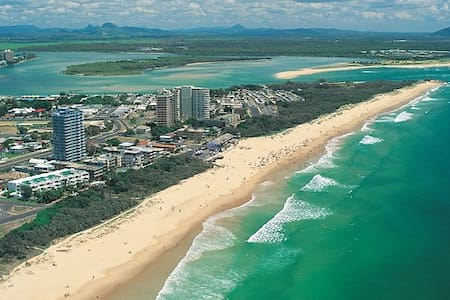4.5 Star Resort+Sunny Coast+Central Location - Wohnung