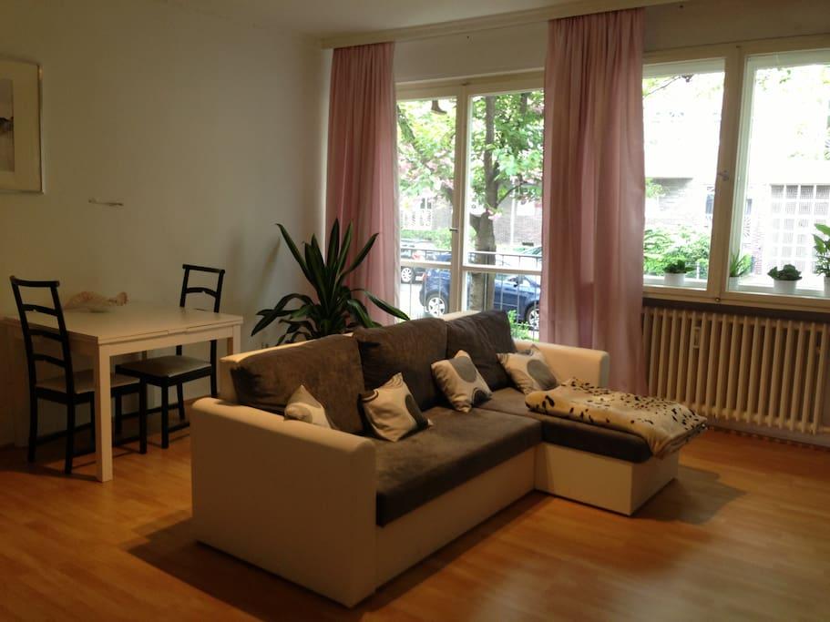 Central 1-bedroom apt near Kudamm