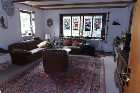 gemütliche Wohnung im Voralpenland - Apartamento