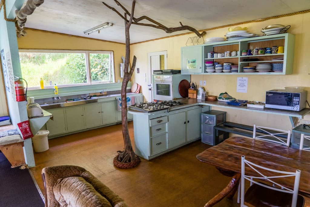 Fully Functional Kitchen with a Seaview