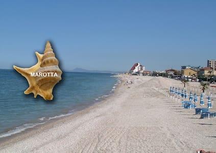 Spacious Loft: Adriatic Coast - beach 3mins walk - Marotta - Loft