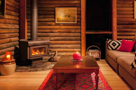 Mexican-Inspired Log Cabin  - Smiths Lake - House