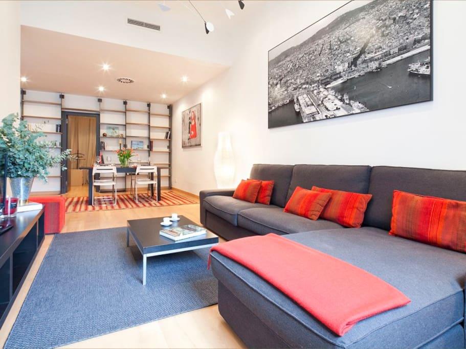 Brigh&Stylish apartment in Eixample