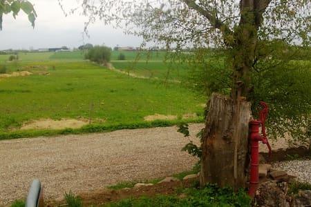 Værelse i landlige omgivelser
