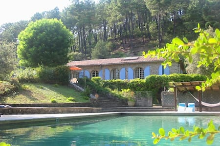 Villa big swimmingpool - nice view - Saint Jean Du Gard