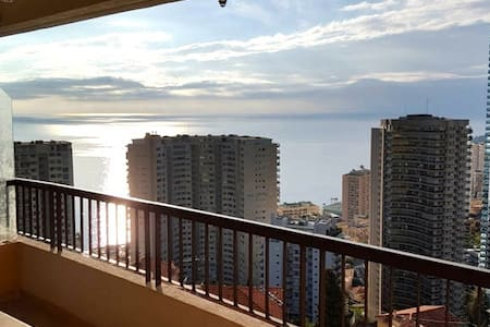 Very nice apartment with sea view - Beausoleil - Appartement