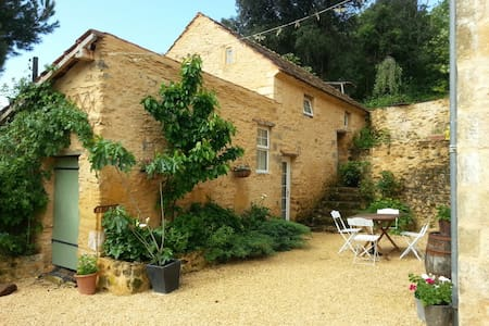 Cosy stone home near Sarlat for 2/3 - Prats-de-Carlux - House