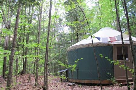 Yurt Off-The-Grid Mountain Retreat - Rundzelt