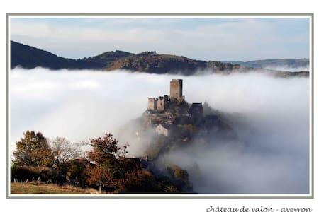Gite Saba 4 people, Aveyron, France - Lacroix-Barrez