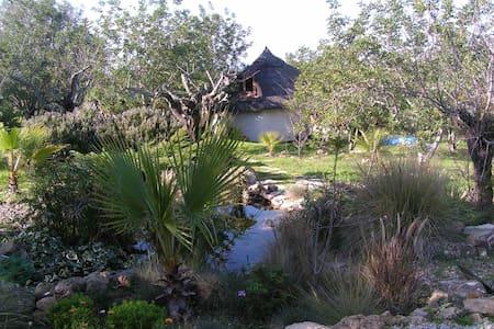 Peaceful Pixie Hut, Algarve. - Jordhytte