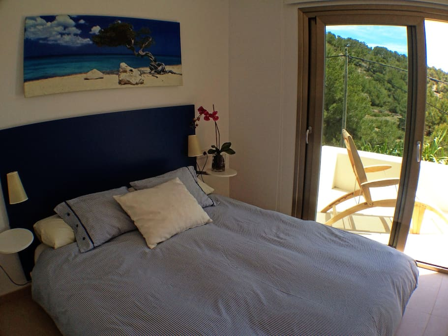 Suite's private entrance, chillout and barbaque